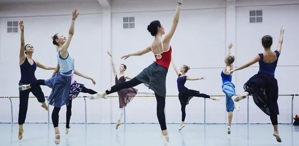 Репетиция в балетной школе