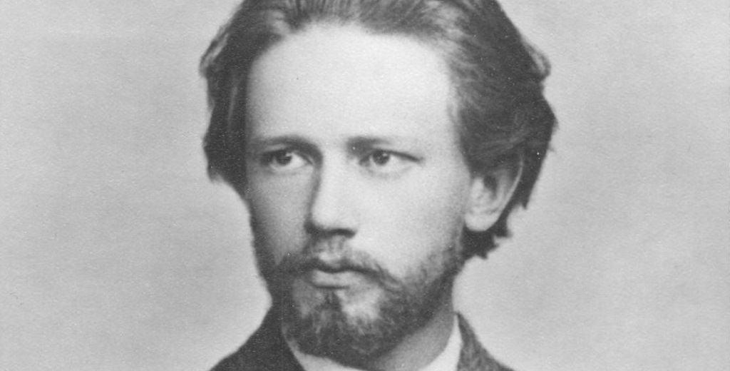 П.Чайковский в молодости