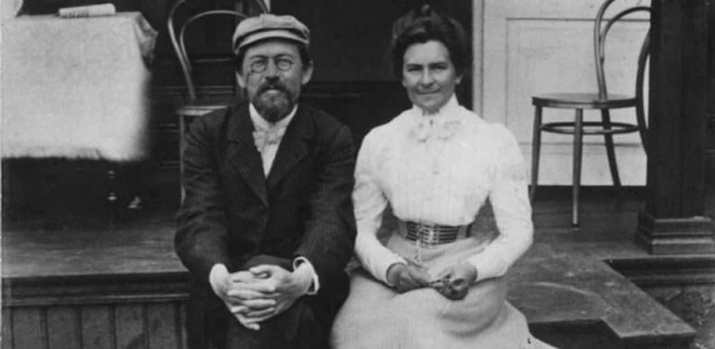 А.Чехов с женой О.Книппер