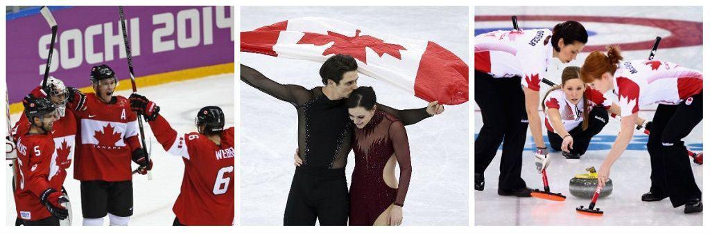 Популярные виды спорта в Канаде