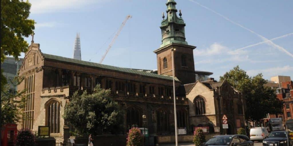 Церковь Всех Святых была в Лондоне