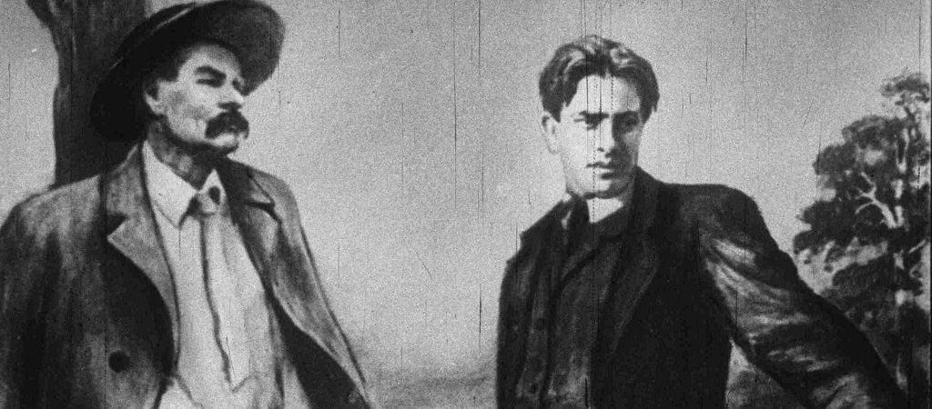М.Горький и В.Маяковский