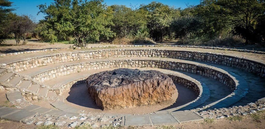 Метеорит Гоба в Намибии