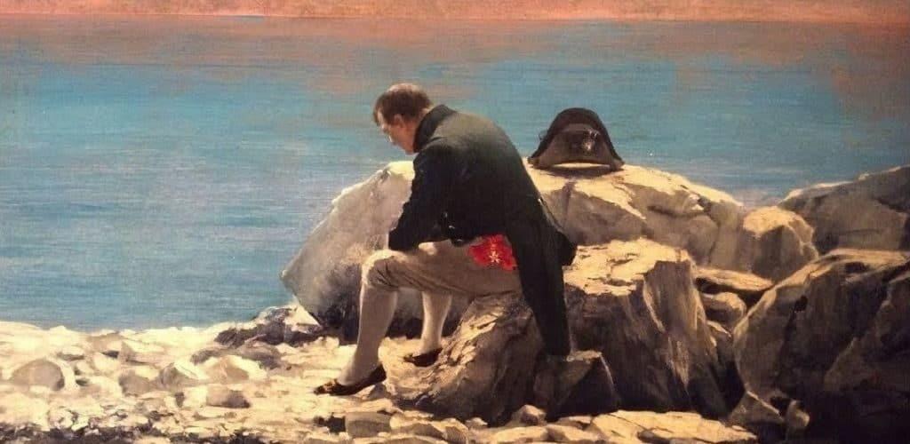 Наполеон в ссылке на о.Св.Елены