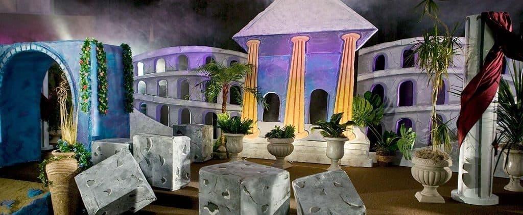 Древнегреческие декорации