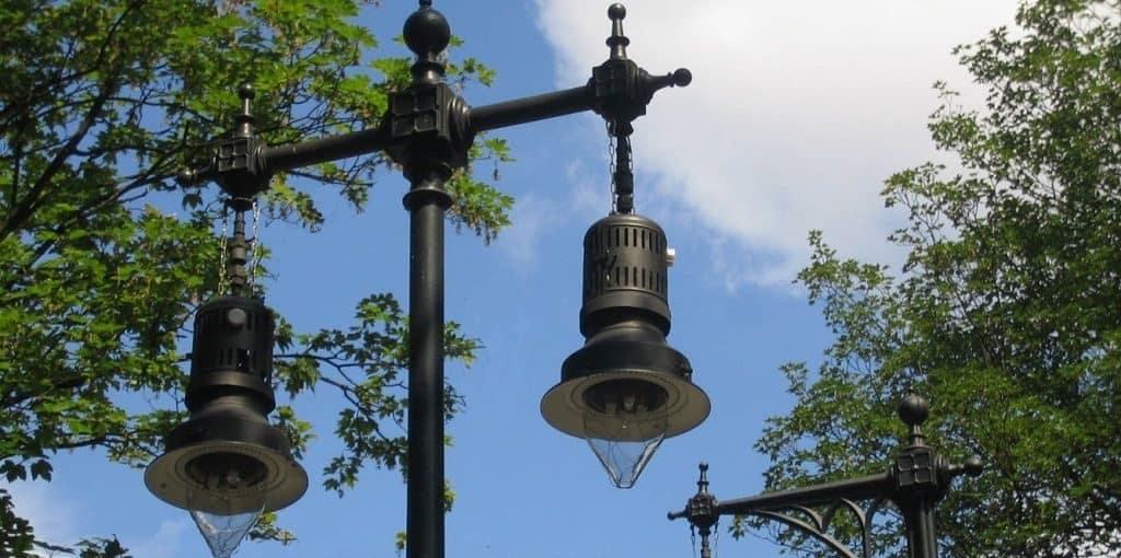 Газовые фонари в Берлине