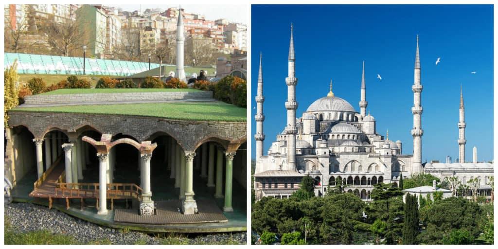 Цистерна Базилика, Голубая мечеть