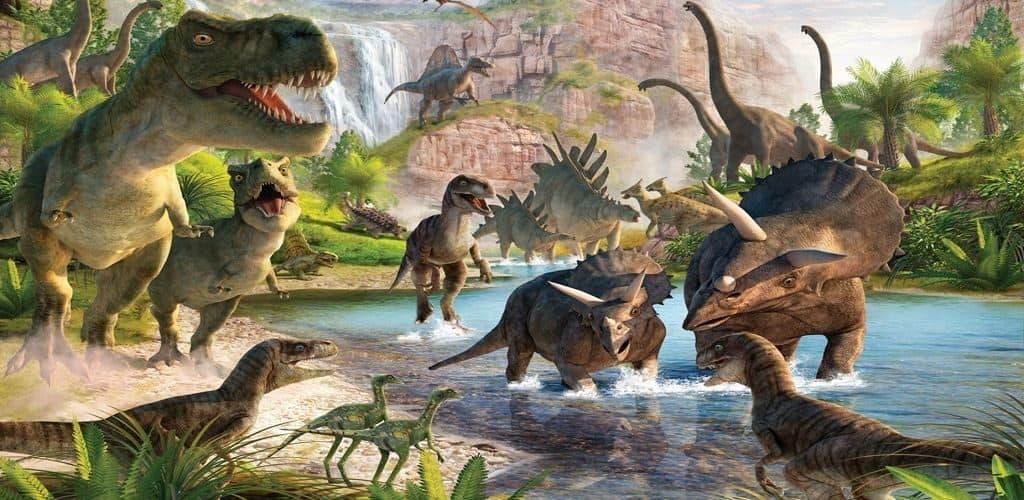 Интересное о динозаврах