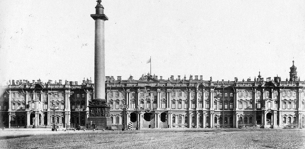 Зимний Дворец при Николае I в 1852 году