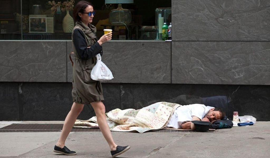 Бездомные