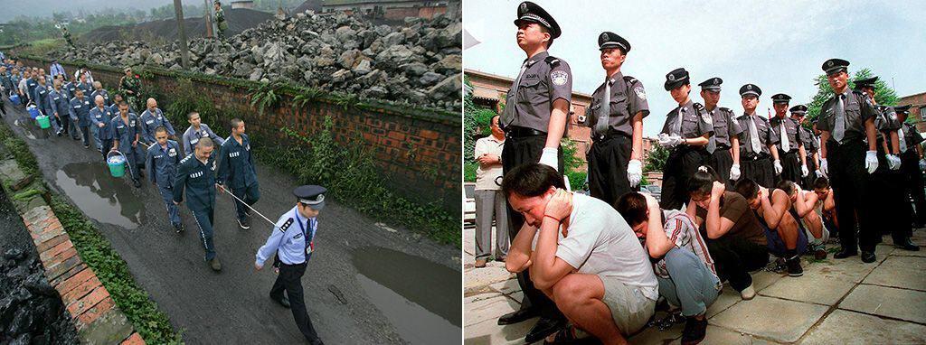 Северокорейские трудовые лагеря