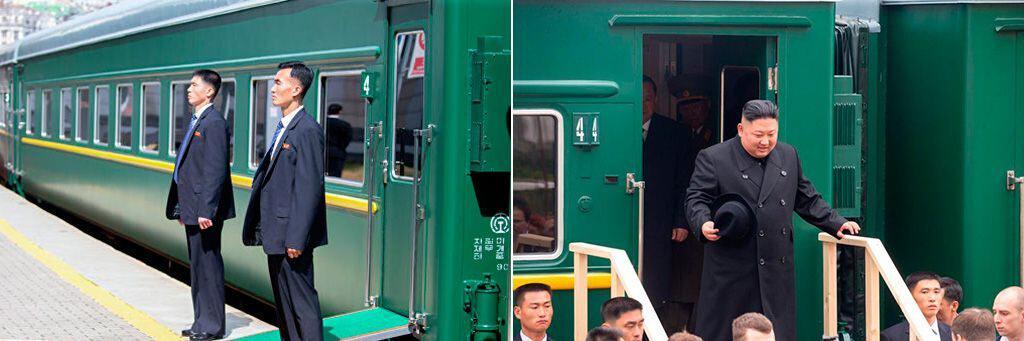Личный поезд Ким-Чен-Ына