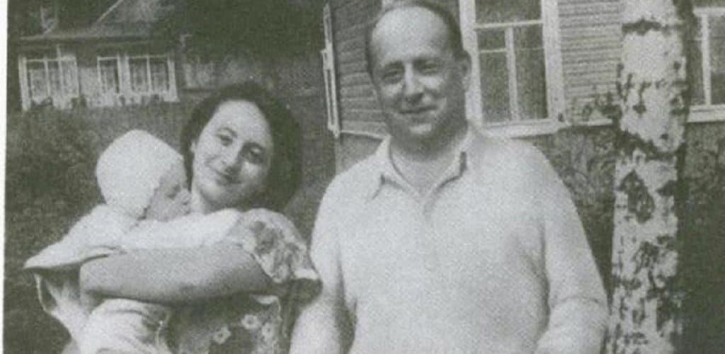 Е.Шварц с женой