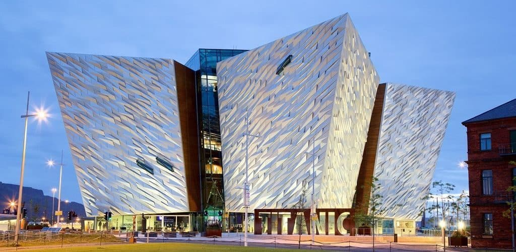 Музей Титаника в Белфасте