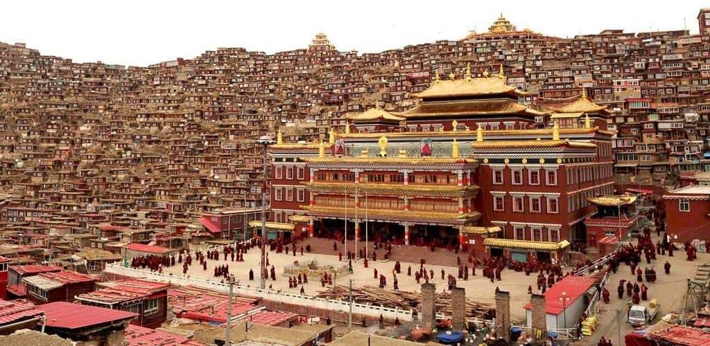Уникальный монастырь Сэда в Тибете