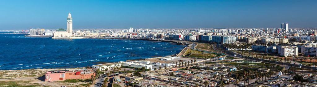Касабланка - самый крупный город Марокко