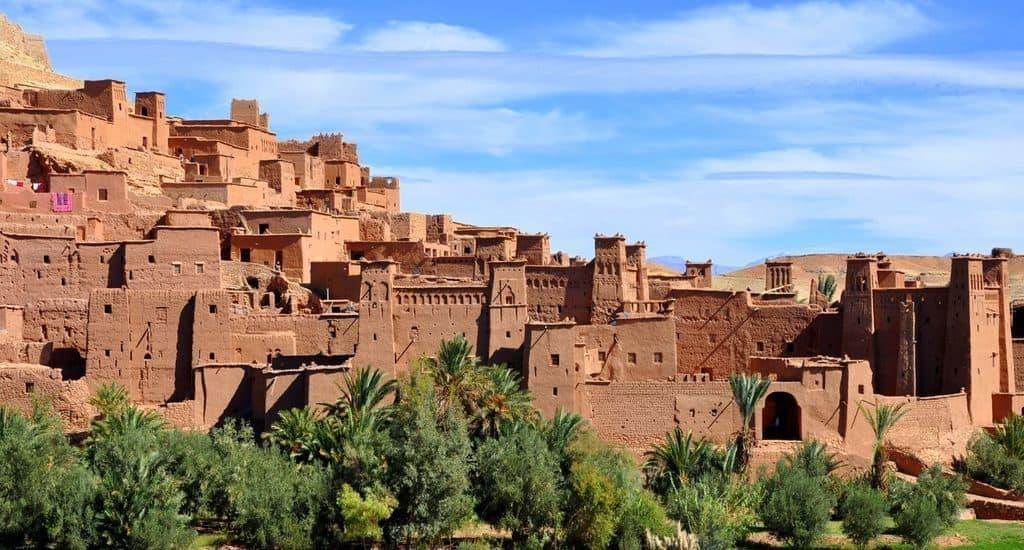 Старинный берберский город Айт-Бен-Хадду