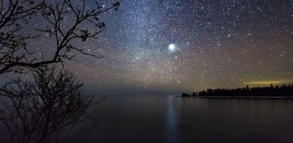Звезда Сириус с земли