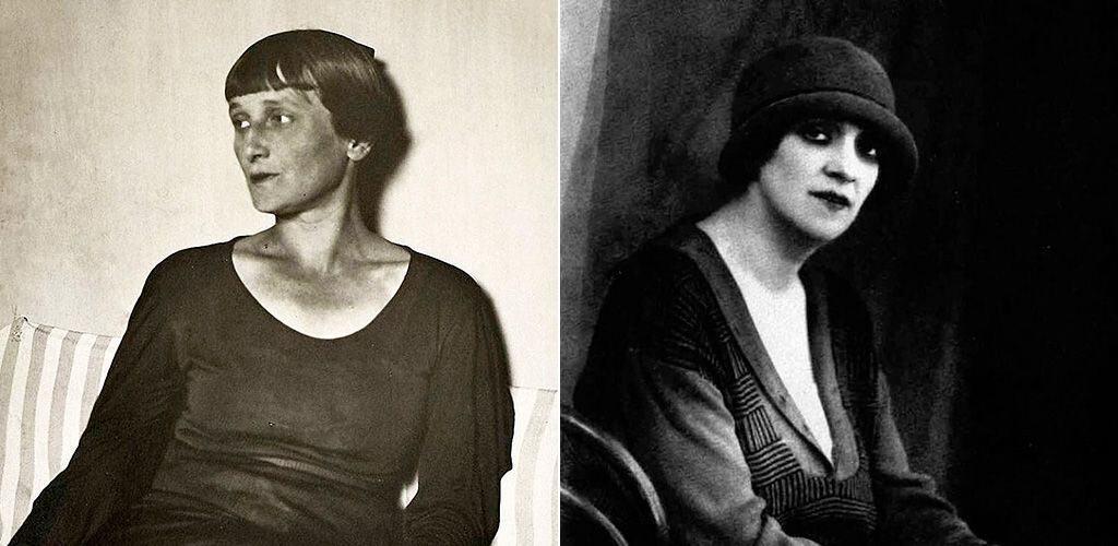 Анна Ахматова и Фаина Раневская