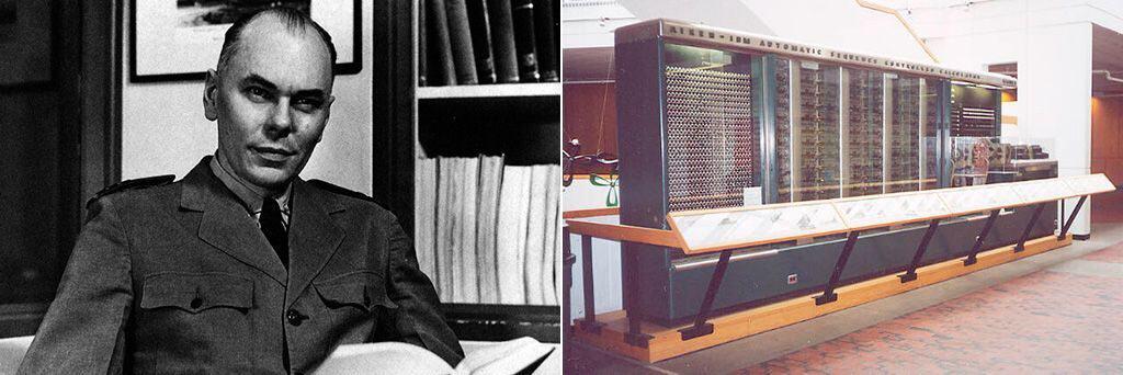 Говард Эйкен и первая аналитическая вычислительная машина Марк 1