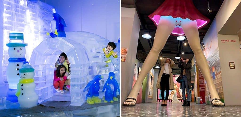 «Ледовый музей» и «Музей любви»