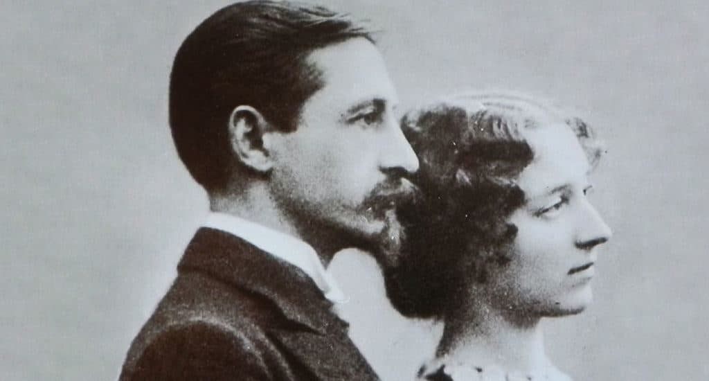 Вера Муромцева и Иван Бунин