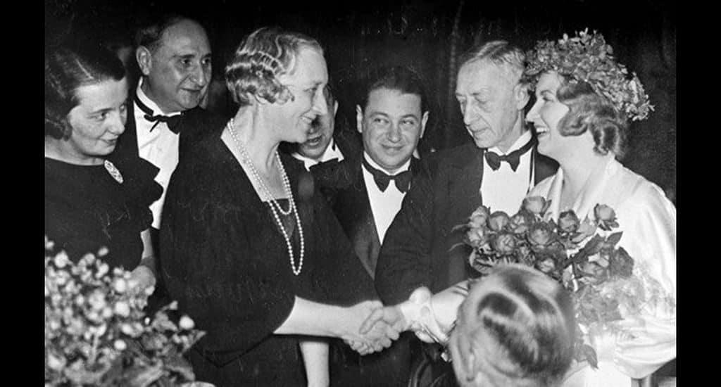 Вручение Бунину Нобелевской премии в 1933 году