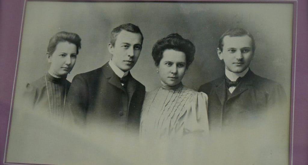 Сергей и Наталья Рахманинов