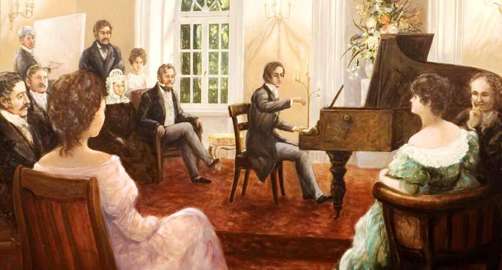 Концерт Фредерика Шопена
