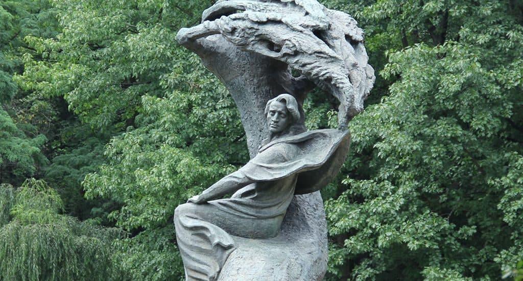 Памятник Фредерику Шопену в Варшаве