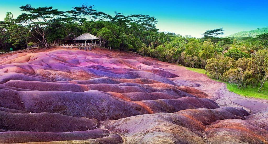 Базальты на острове Маврикий