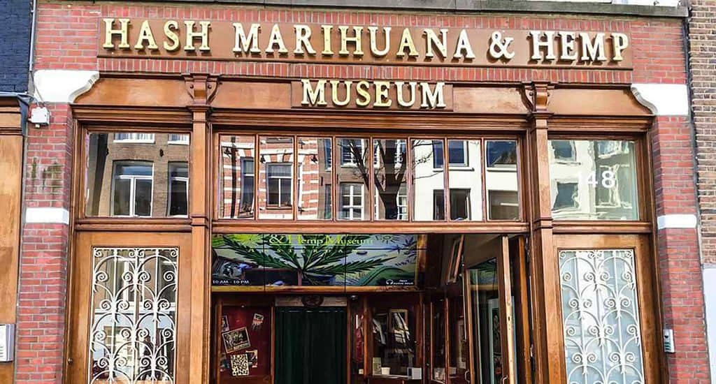 Музей гашиша, марихуаны и конопли в Амстердаме