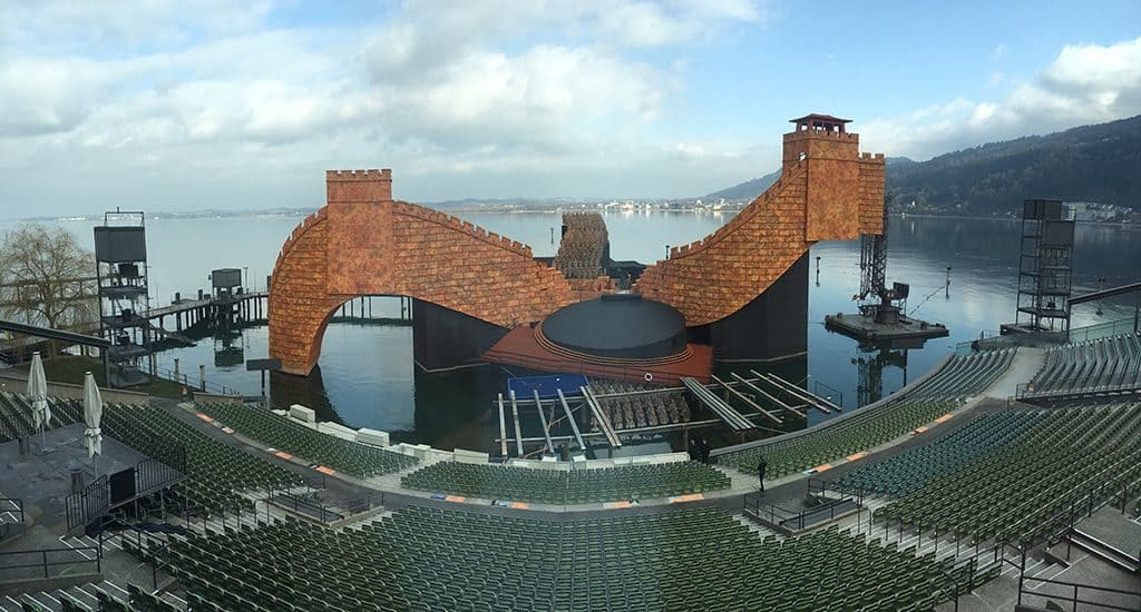 Оперный театр в Брегенце