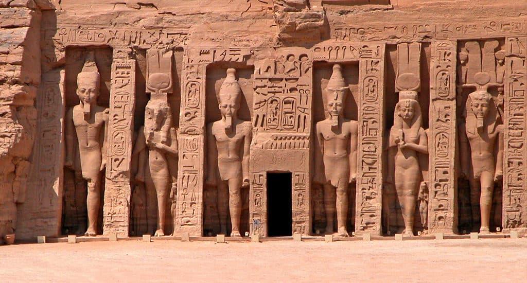 Малый храм Абу-Симбела