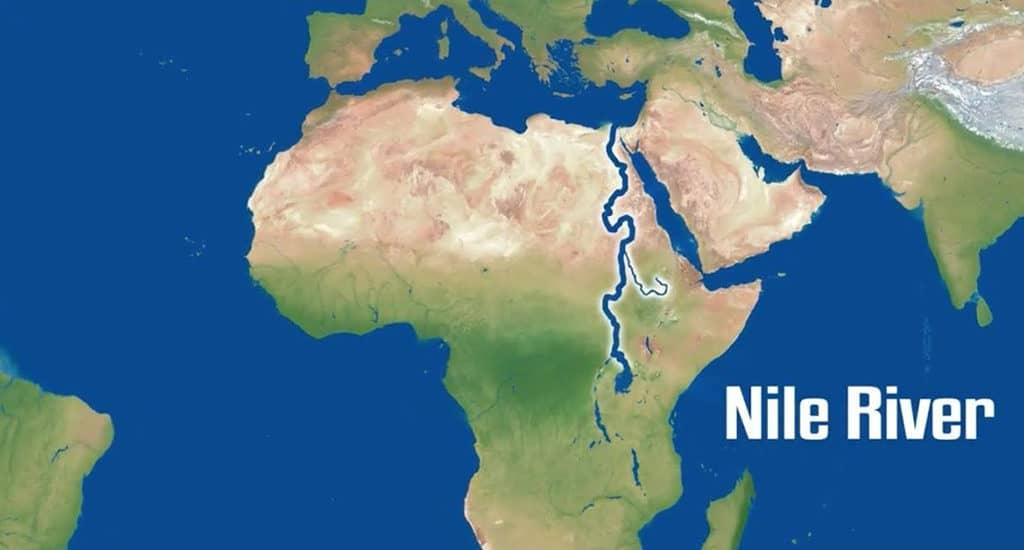 Протяженность Нила