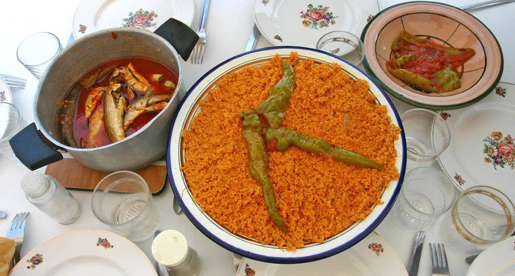 Национальная кухня Туниса