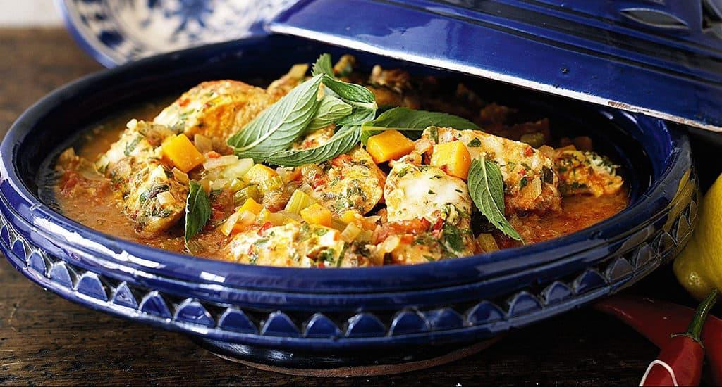 Блюда из тунца в Тунисе