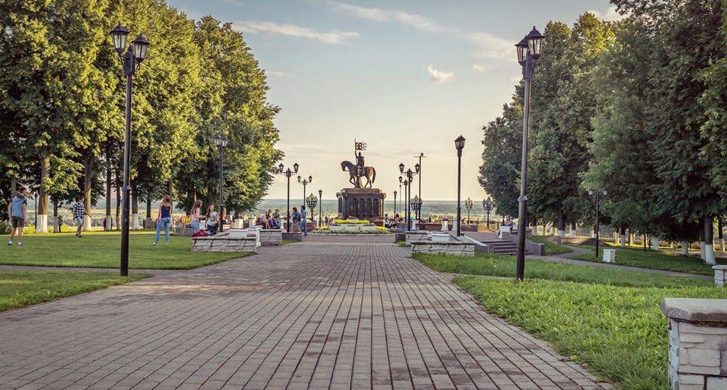 Сквер им. Пушкина во Владимире