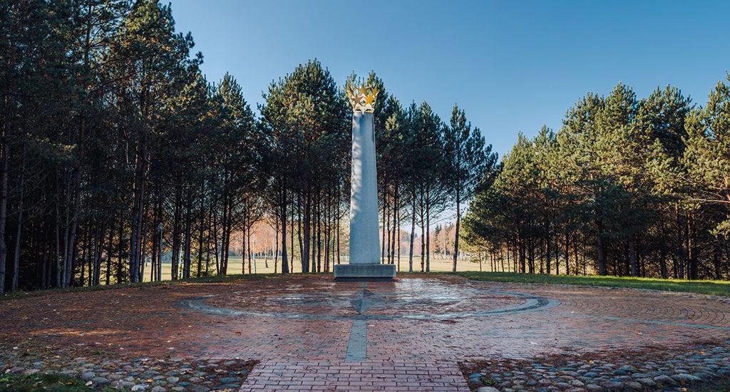 Географический центр Европы в Литве
