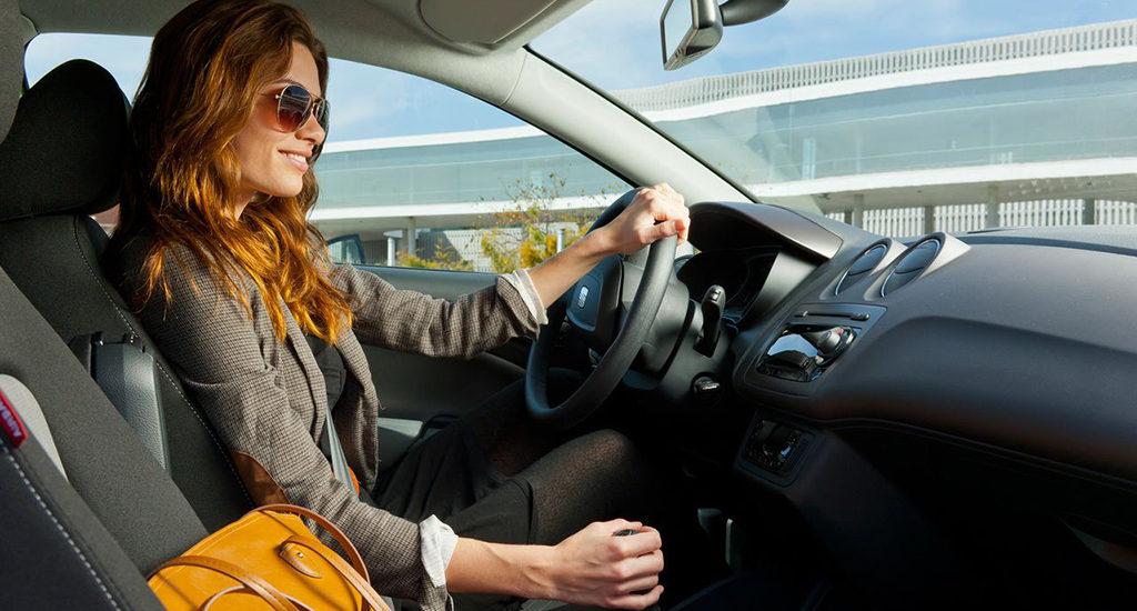 Женщины за рулем в Литве