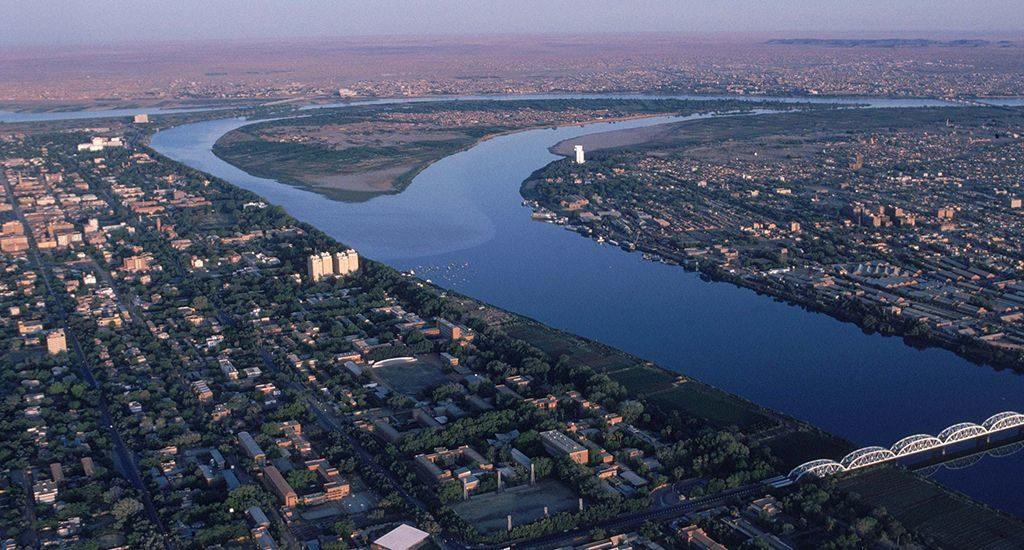 Нил в Хартуме
