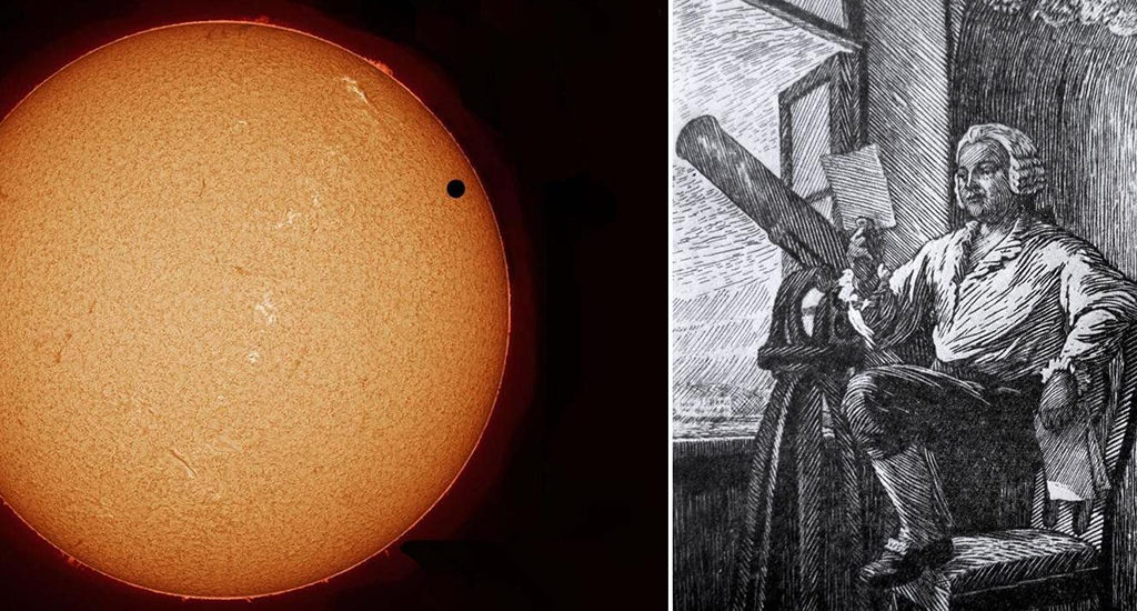 Ломоносов открыл атмосферу Венеры