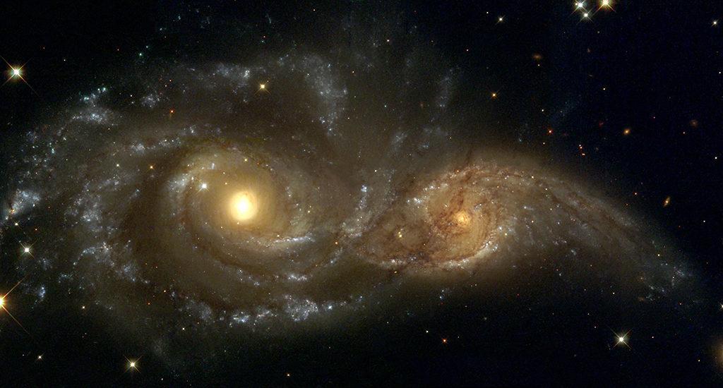 Млечный Путь и Андромеда