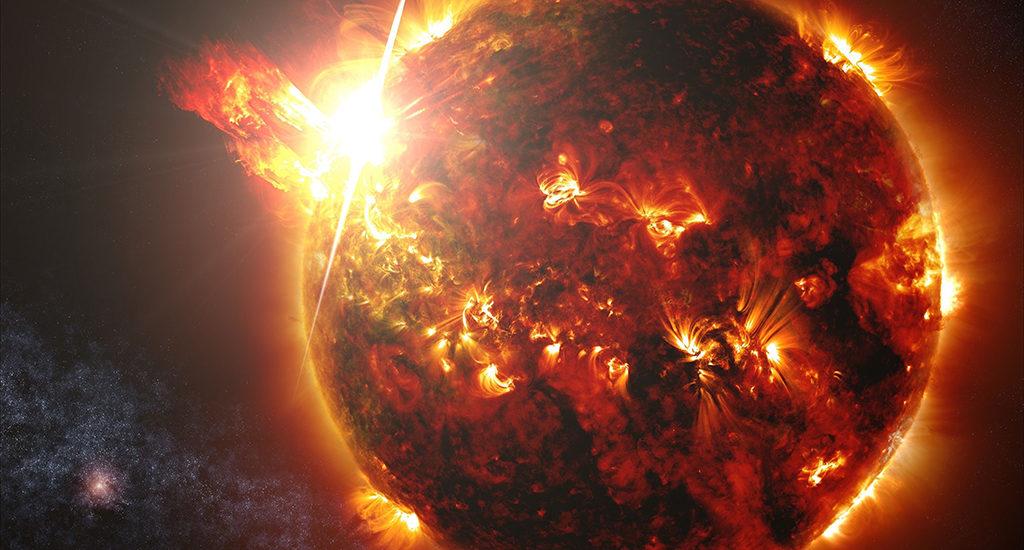 Солнце из Космоса