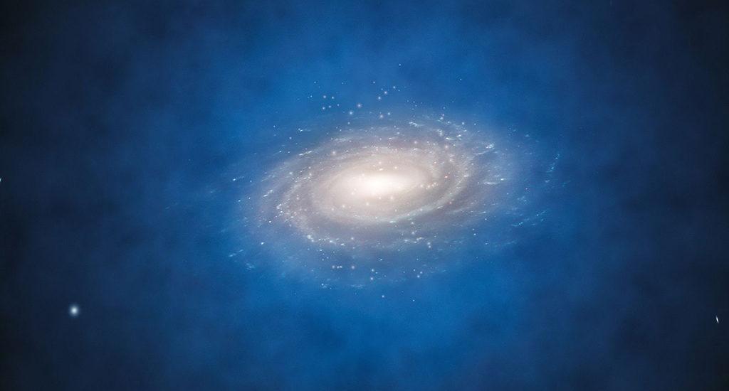 Сферический ореол вокруг Млечного Пути