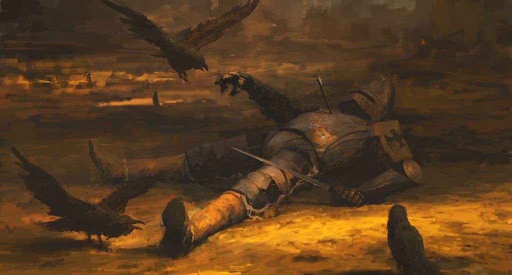 Вороны как символ смерти и несчастья