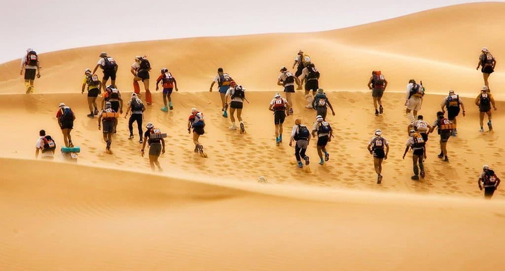 Marathon des sables в Сахаре