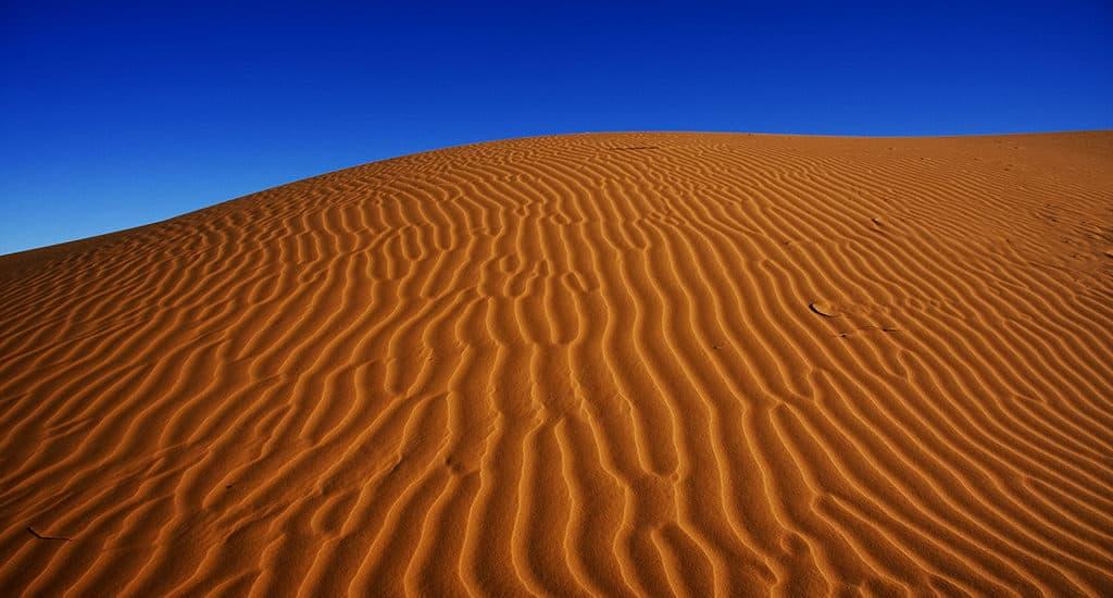 Сахара - не самая большая пустыня в мире