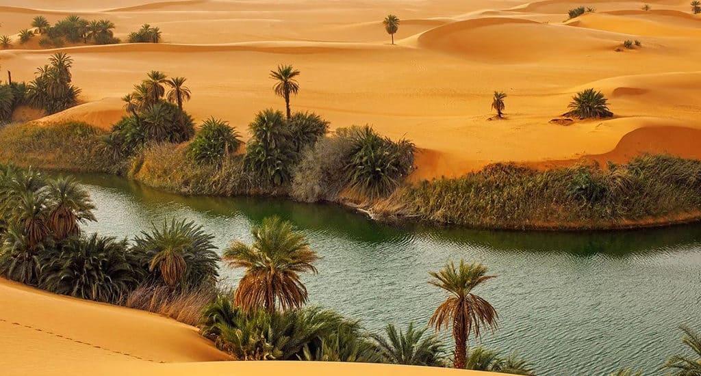 Оазис Сахары Аубари