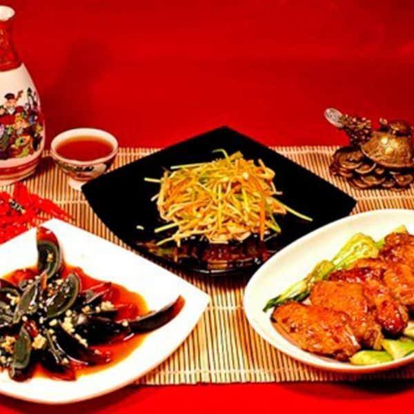 Китайские блюда. Красиво